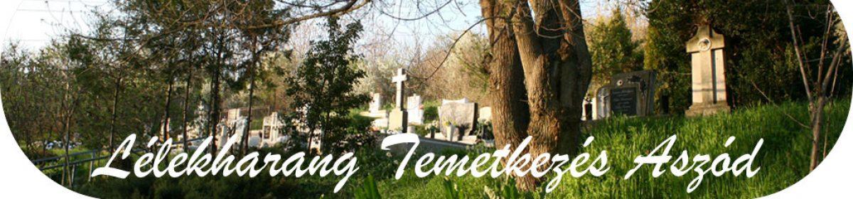 Lélekharang temetkezés Aszód